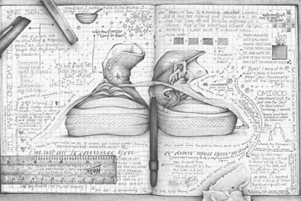 Dibujos de amor a lapiz - Imagui