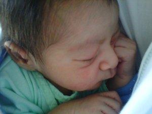 Segundo día de nacido (30-01-2013)